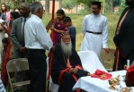 Catholicos Baselios Mar Thoma Didymos I visits our church building site